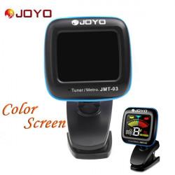 JOYO JMT 03 Portable Gitarren Digital Tuner Farbbildschirm Metronom