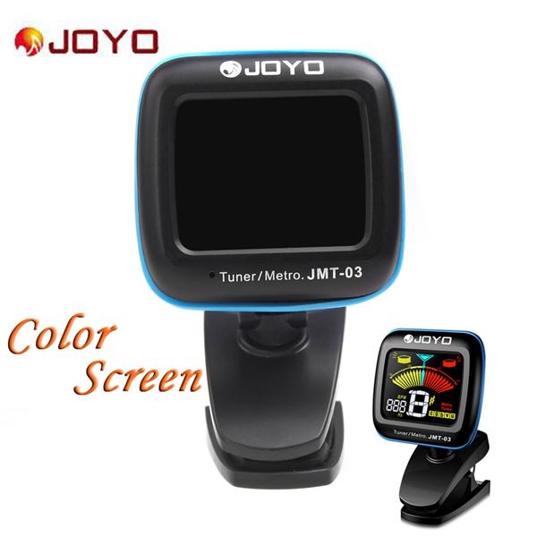 JOYO JMT 03 Portable Gitarren Digital Tuner Farbbildschirm Metronom Musikinstrumente