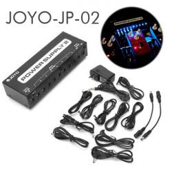 JOYO JP 02 Netzteil 2 Gitarrenpedalvorrichtung 10 getrennte Ausgänge LED