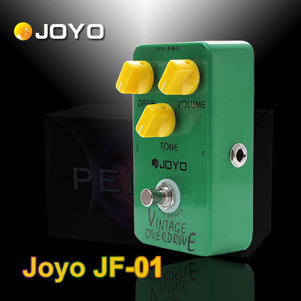 Joyo JF-01 Vintage Overdrive Guitar Effect Pedal with True Bypass Musical Instruments