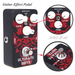 Joyo JF 02 ultimative Overdrive Pedal mit True Bypass Wiring