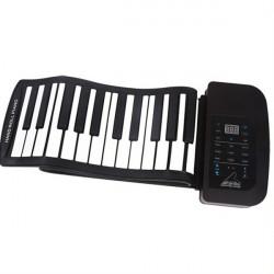 Konix 61 Key MIDI Keyboard tragbare elektronische Roll Up Piano PA61
