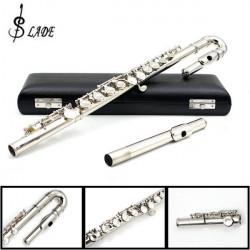 LADE Kinder U Flöte 16 Löcher C Tone Obturator Biegen Flöte Splitter
