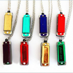 MUSIC-BOX Of C Necklace Style Mini Harmonica with 4 hole 8 tone