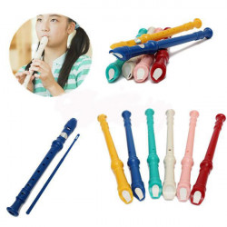 Multi-color Resin Senior 8 Holes Flute With Cleaning Rod