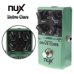 NUX Drive Kärna Overdrive Gitarr Effekt Pedal