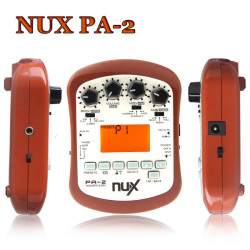 NUX PA-2 Bärbar Akustisk Gitarr Effektprocessor
