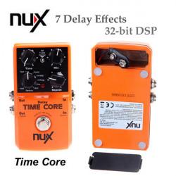 NUX Time Kärna Gitarr Effect Pedal 7 Fördröjningseffekter True Bypass