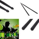 Et Par 5A Nylon Materiale Five Color Trommestikker Musikinstrumenter