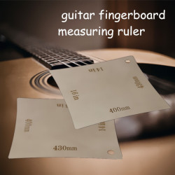 Radius Gauges Instrument Guitar Fingerboard Arc Measuring Ruler