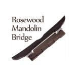 Rosenholz Mandoline Gitarren Brücke für Mandoline Musikinstrument Musikinstrumente