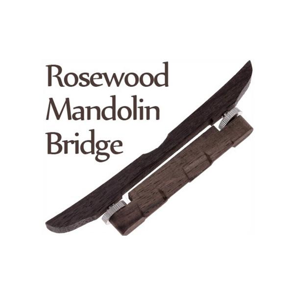 Rosewood Mandolin Guitar Bridge for Mandolin Musikinstrument Musikinstrumenter