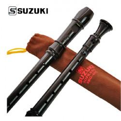 Suzuki Musikinstrument SRG-405 Tyska 8 Hål Soprano Recorder