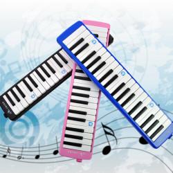 Swan 37 Keys Melodica Munspel med Kurser Rosa Blå Svart