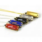 Swan Tonart C Halsband Stil Mini Munspel 4 Hål 8 Ton Musikinstrument