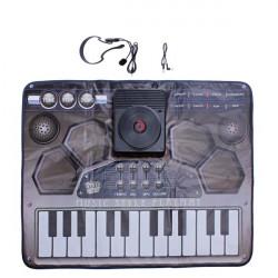 Pekskärm DJ Musikstil Playmat Set 8 Musikinstrument