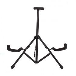 Vertikal Enda Gitarr Stand Folding Fold Stativ Gitarr Stand