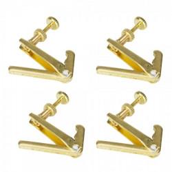 Violin Fiol Fine Stämmning Sträng Adjuster Speciellt för Högkvalitativ Violin Fiol Gold