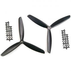 1045 3-Leaf Propeller ABS CW/CCW For 450 500 550 Frame Kit