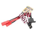 10A ESC Borstad Speed Controller för RC Bil och Båt Utan Broms Radiostyrt