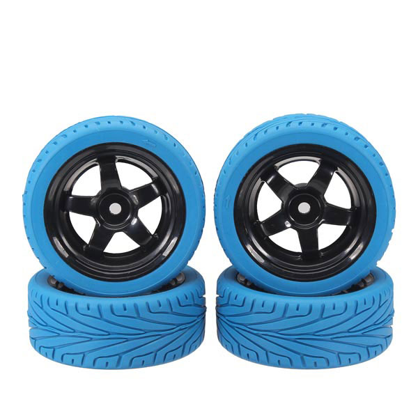 1/10 On-road Rubber Tyre 4 PCS For HSP HPI