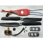 1806 2400KV Brushless Motor Simonk 12A 2-3S ESC 6030 propeller RC Toys & Hobbies
