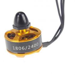1806 2400KV Mini Borstlös Motor CW / CCW för QAV250 FPV