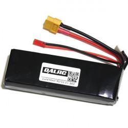 2600mAh 3S 11.1V 20C Batteri för FPV Sändare Bildskärm Flygplan
