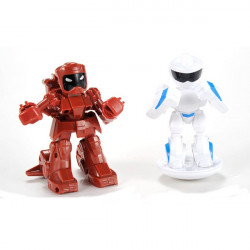 2PCS Remote Radio Control Battle Fighting RC Robot YQ88195