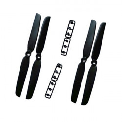2 Pairs Gemfan 6x3 6030 propellers CW/CCW For ZMR250 QAV250 240 Quadcopter Black