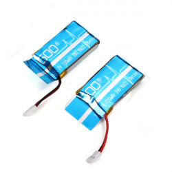 2 x WLtoys V931 RC Heli Parts 3.7V 720mAh 25C Upgraded Battery