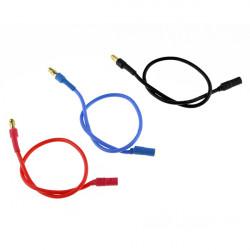 30CM Verlängerungskabel 3,5 mm Kopf mit Bananen Silicon Kabel für Motor ESC