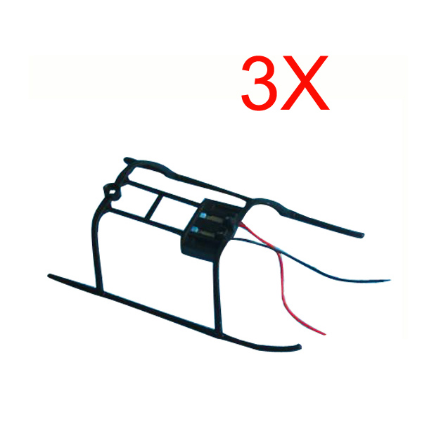 3 x V911 4CH sondern Blatt RC Helikopter Ersatzteile Landekufen RC Spiele & Hobbies