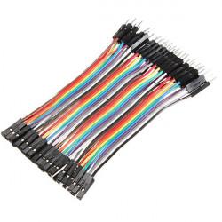 40 X 10cm Hane till Hona Jumper Wires Calbe 2.54mm