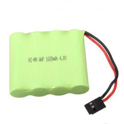 4.8V 1600mAh Ni-MH Uppladdningsbart Batteri för Mottagare
