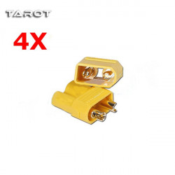4 Pairs X Tarot Amass XT30 2mm Halk Plug Connector TL2918