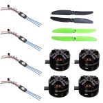 4XDYS 10A 2-3S ESC+4XDYS BE1806 2300KV motor+1XGemfan 5030 Propeller Set RC Toys & Hobbies