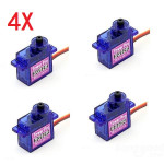 4 X TowerPro SG92R Mini Micro Servo 9g 2.5kg For RC Airplane RC Toys & Hobbies