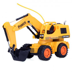5 CH RC Engineering Car Remote Control Excavator Toy Car