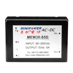 5V 12V 24V Power Modules AC-DC 220V to 30W MEW30-SXD