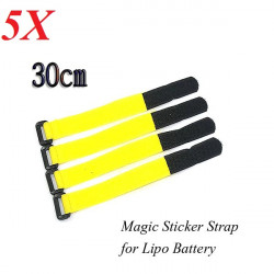 5X Nylon Magic Sticker Strap 2cm*30cm for Lipo Battery