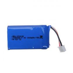 7.4V 800mAh 15C Batteri för Walkera DEVO F7 Radio Kontroll