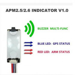 APM2.5 / 2,6 / 2,8 MWC Flight Controller Light & Summer Indikator V1.0