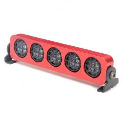 AUSTAR LED-ljus Aluminiumlegering Ram för 1/10 1/8 CC01 / D90 / SCX10 RC Bil