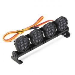 AUSTAR LED Lys Aluminum Alloy Ramme til CC01 / D90 / SCX10 / 4WD RC Bil