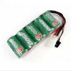 Ace SC 4500mAh 6v Ni-MH Batteripaket Futaba Big Tamiya Plug