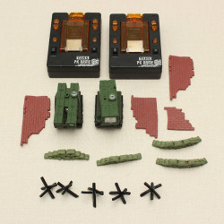 Airsoft Infra-Red Control Interactive Micro Battle Tank Game 1/48 Tank