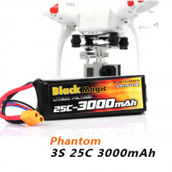 BlackMagic 3000mAh 11.1V Battery For DJI PHANTOM CX-20 Quanum Nova