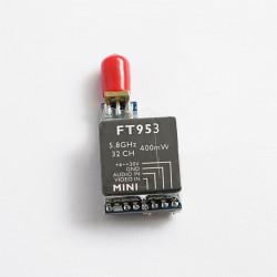 Boscam FT953 5.8G 400mW 32CH Mini FPV AV-sändare