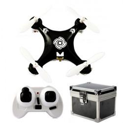 Cheerson CX-10A CX10A 6 Axis RC Quadrokopter Droner Mode 2 Sort + Gaveæske